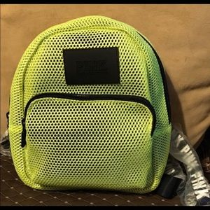 Pink Neon Green Fashion Backpack New
